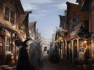 Diagon Alley from the Prisoner of Azkaban