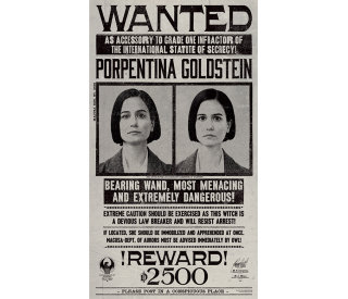 behind the scenes of fantastic beasts wanted posters pottermore