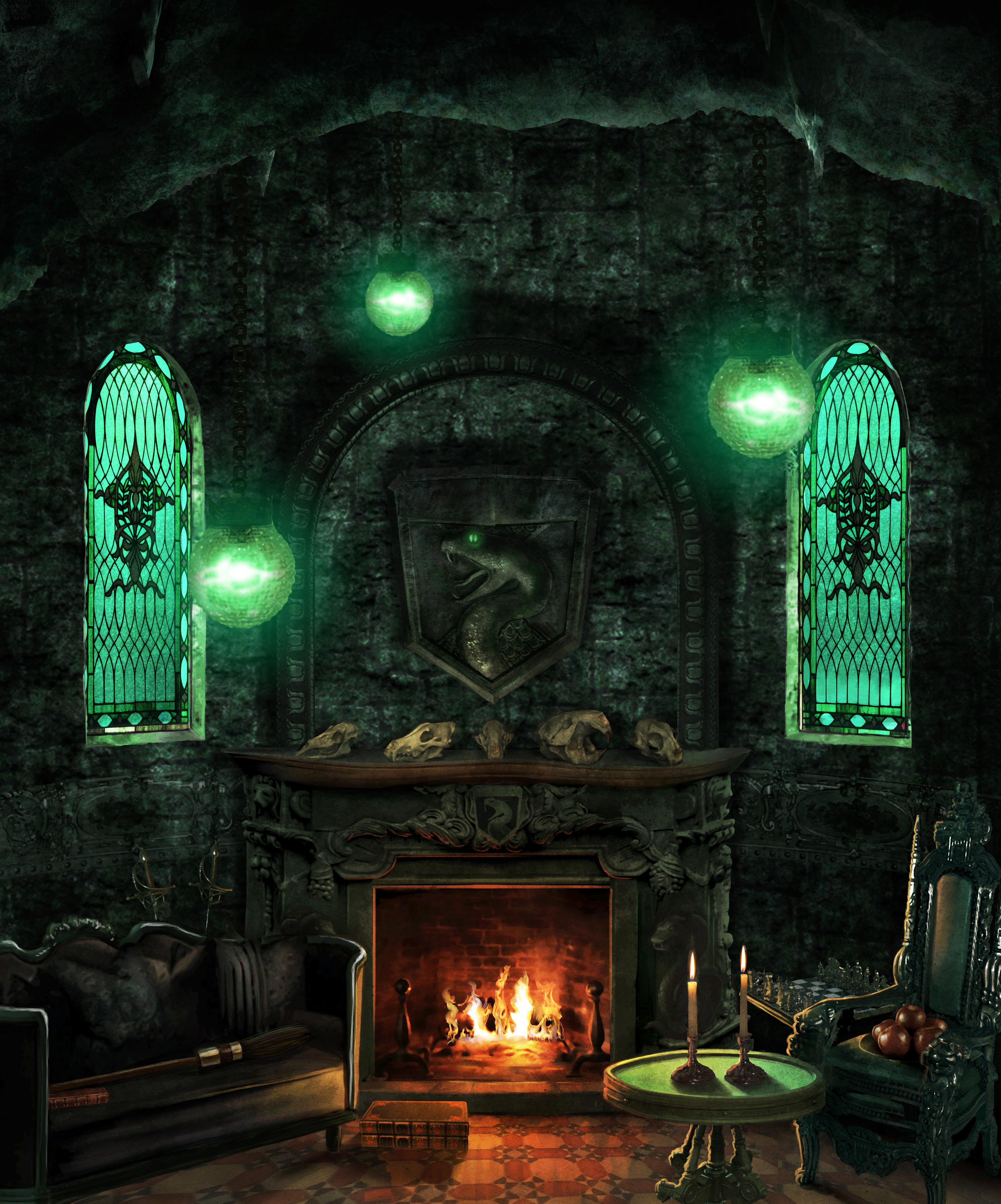 Slytherin VANS | Slytherin Common Room in 2019 | Slytherin