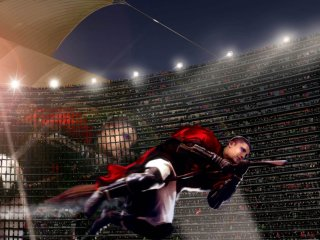 Krum flying in the Quidditch World Cup