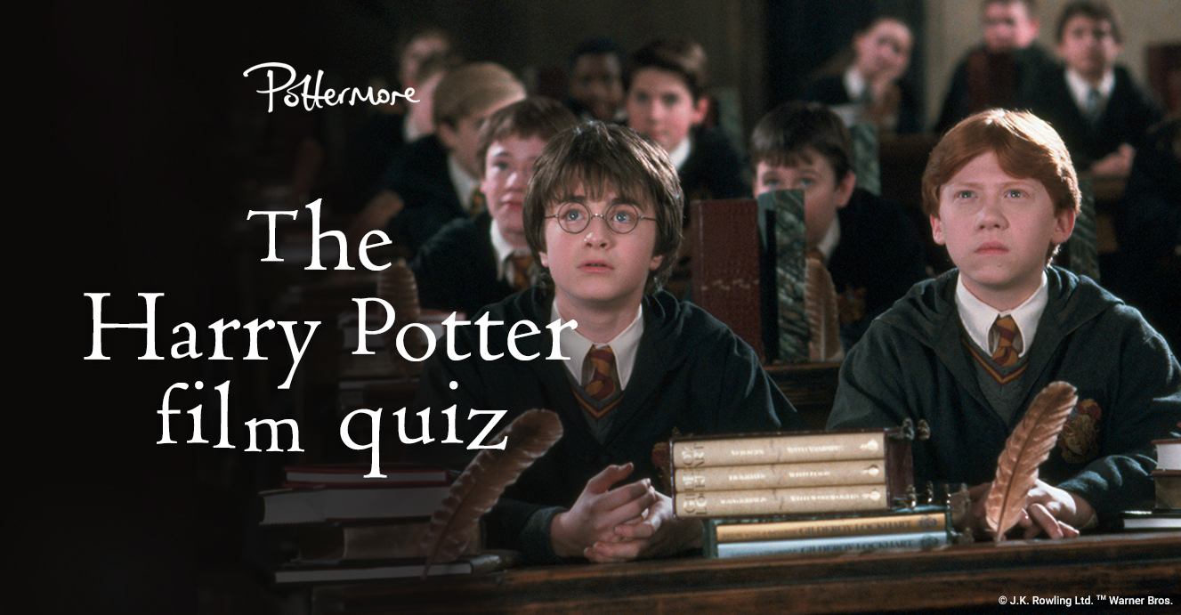 the harry potter film binge quiz