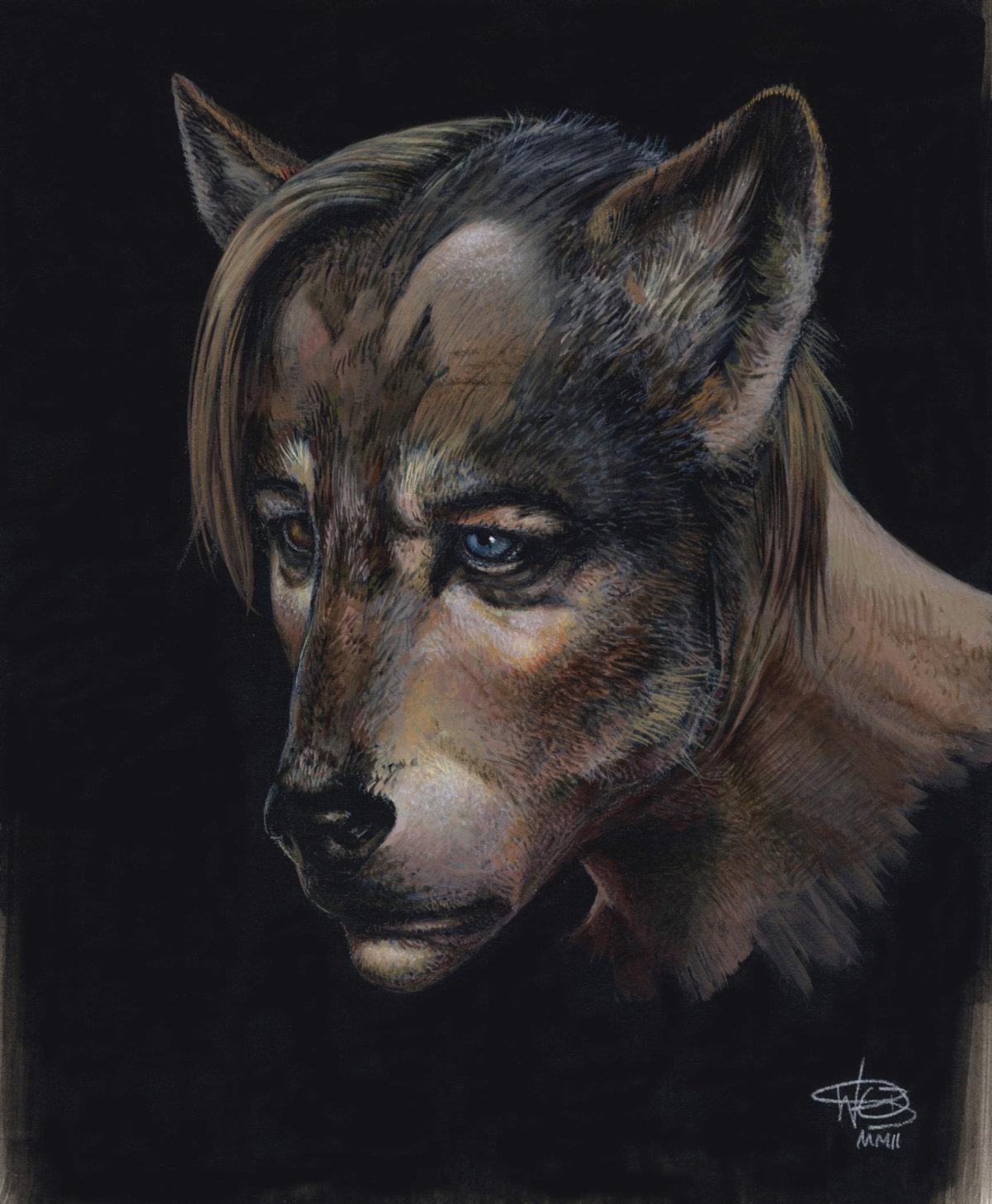 Fenrir greyback werewolf form