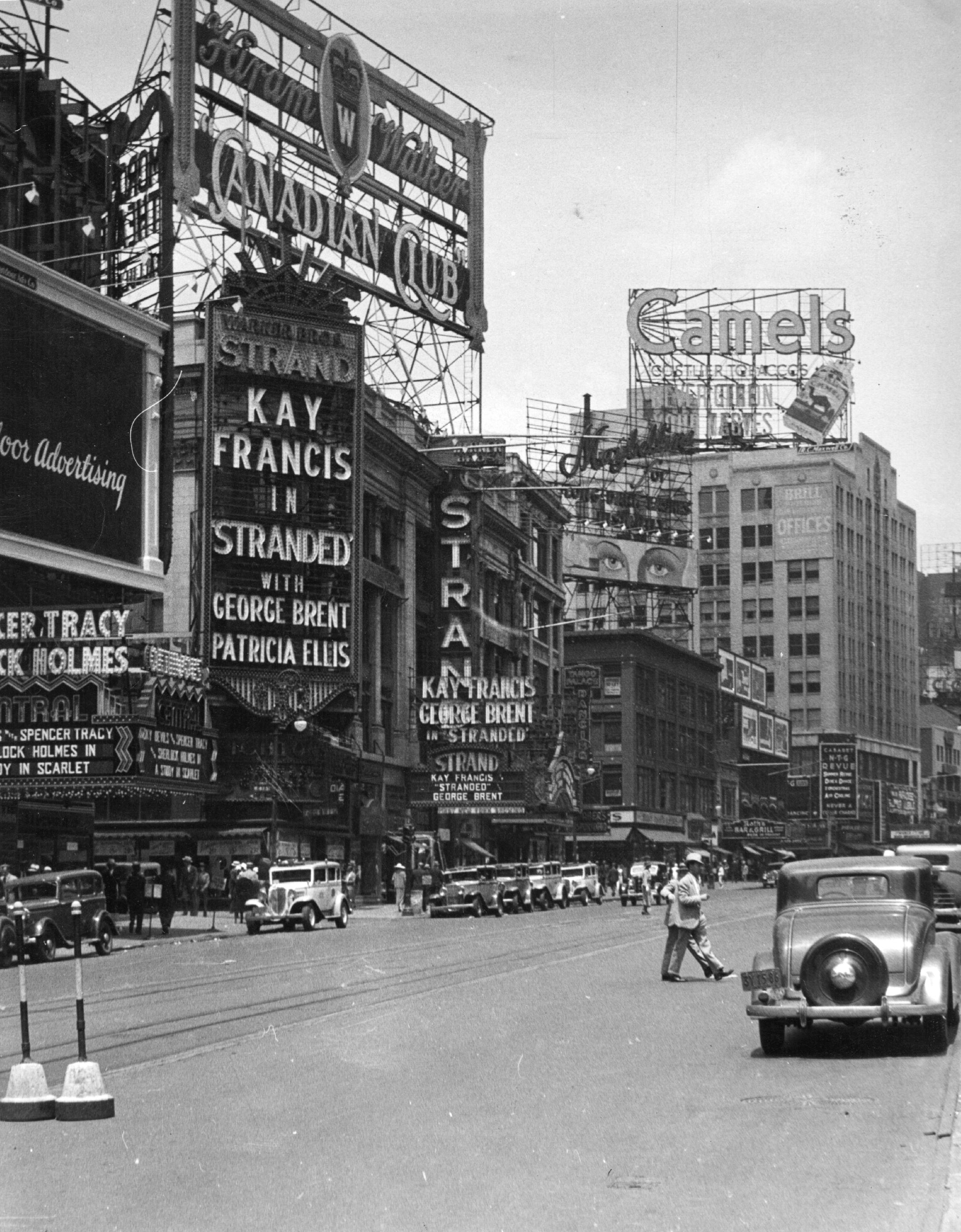The Strand Cinema on Broadway New York in 1925