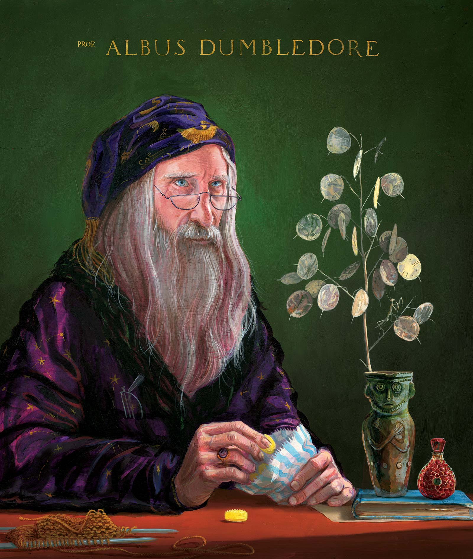 Albus Dumbledore illustrated by Jim Kay