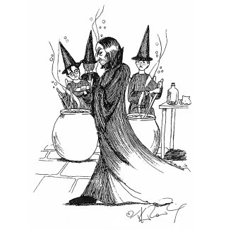 JKR Severus Snape illustration