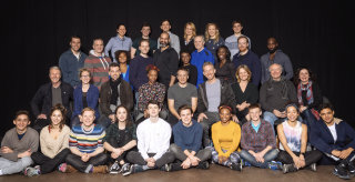 Broadway cast group shot from Harry Potter and the Cursed Child