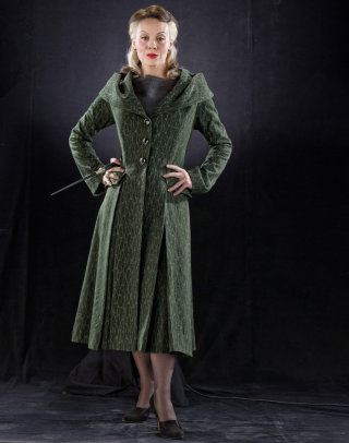 Narcissa with her hands on her hips from the Half Blood Prince