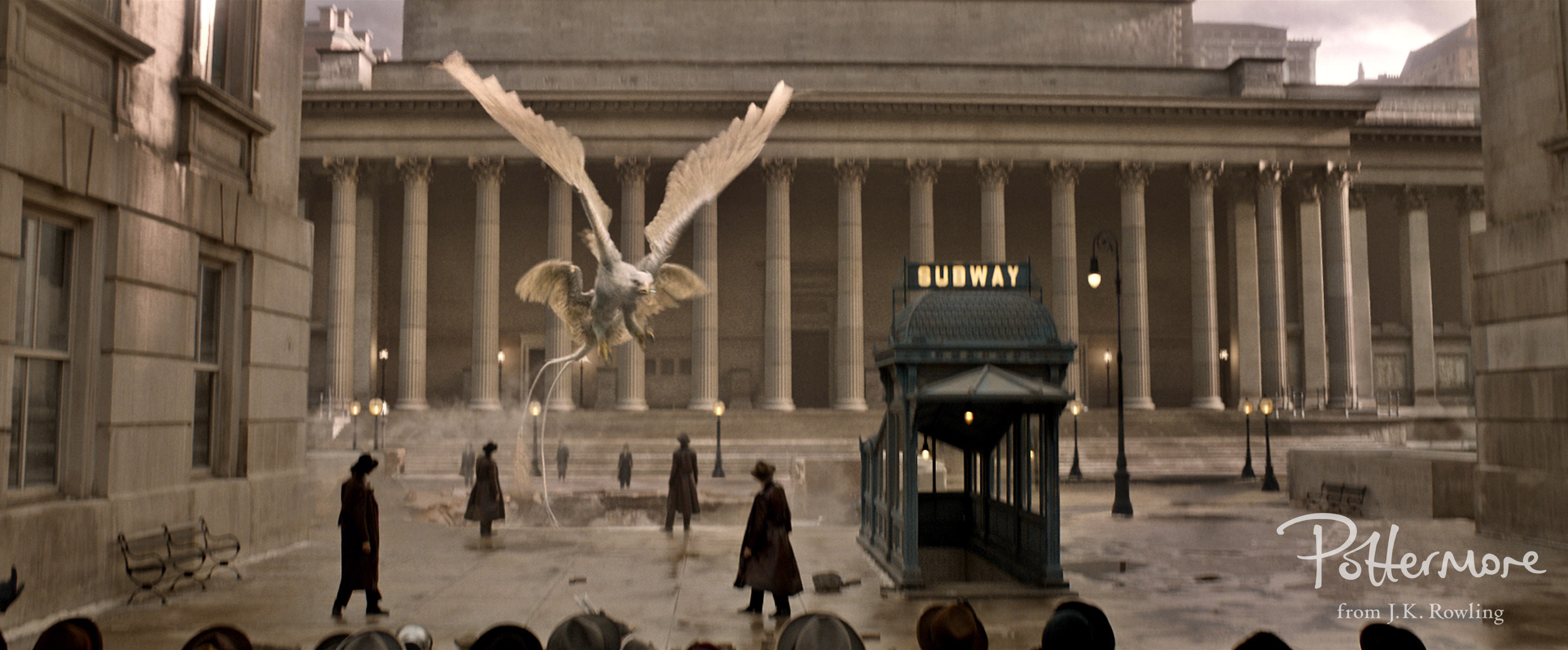 A Thunderbird in Fantastic Beasts and Where to Find Them