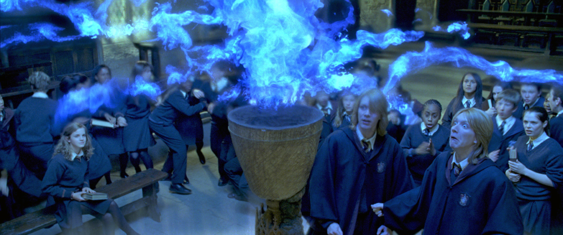 The Goblet of Fire rejects the Weasley twins names.
