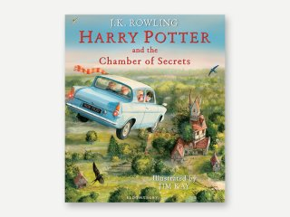 Chamber Of Secrets Illustrated Edition Cover Jim Kay
