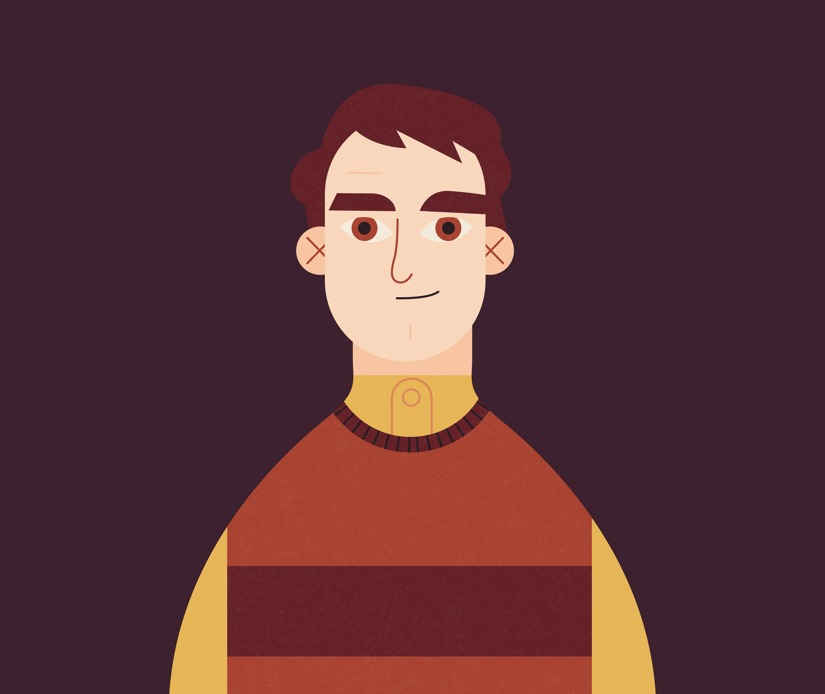 Illustration of Frank Longbottom from the first Order of the Phoenix infographic