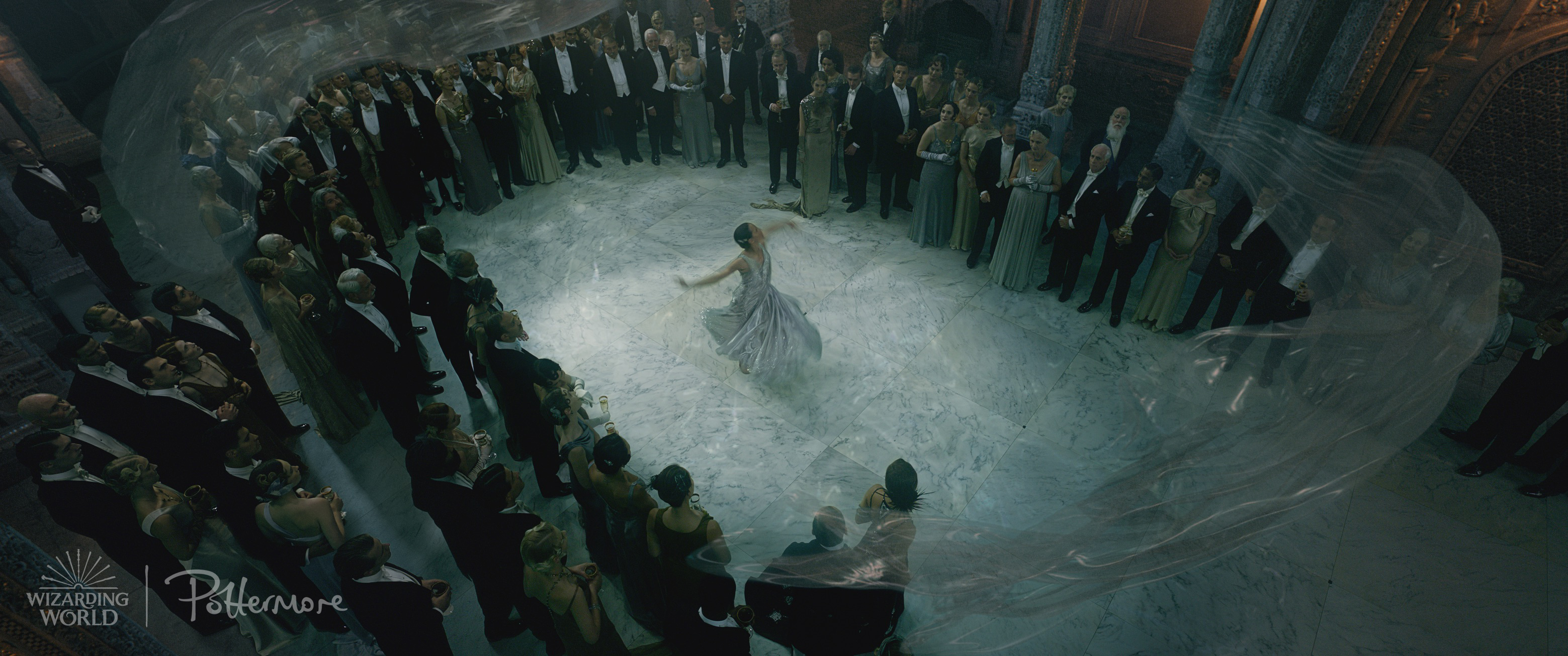 Leta Lestrange dancing in the trailer for Fantastic Beasts: Crimes of Grindelwald