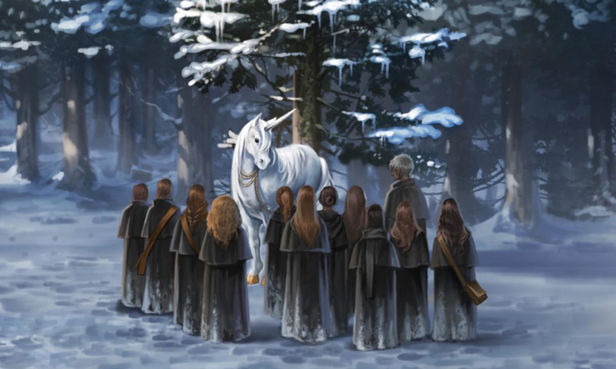 Unicorns Pottermore