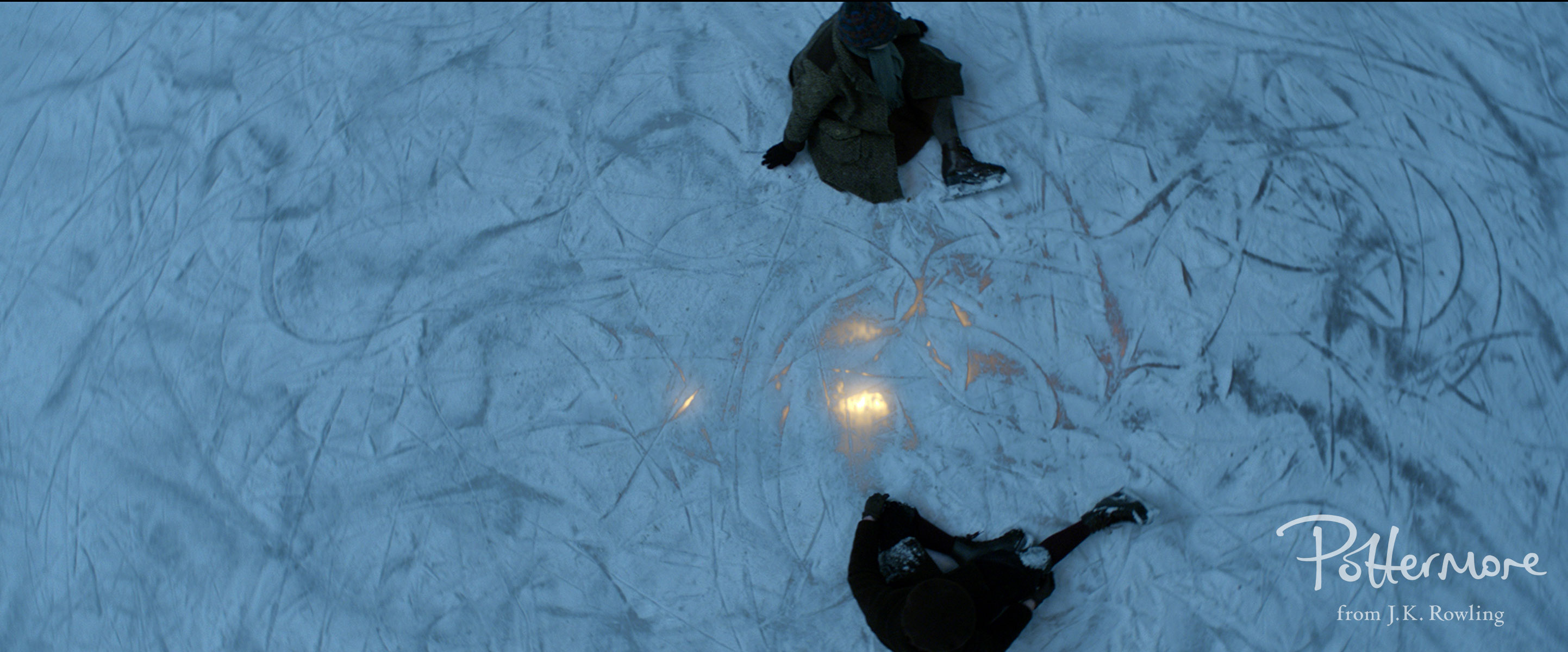 Light below ice in Fantastic Beasts and Where to Find Them