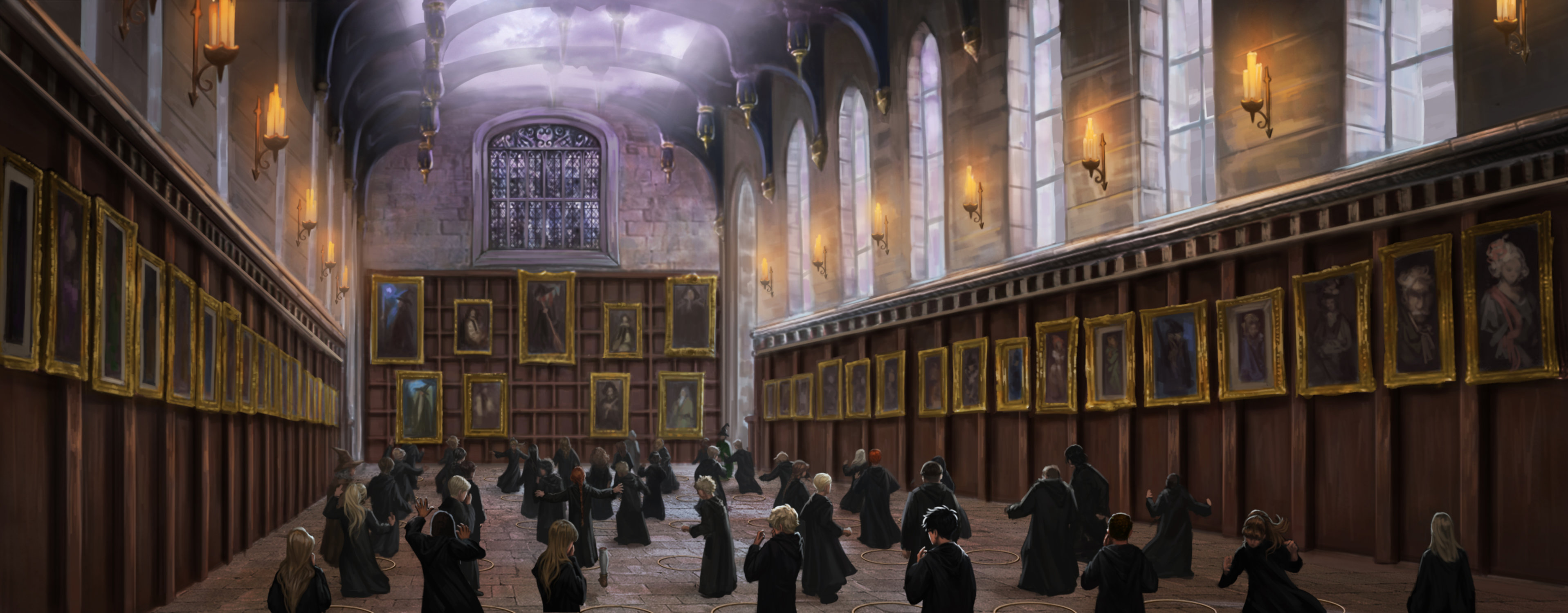 Apparition lessons on the Great Hall