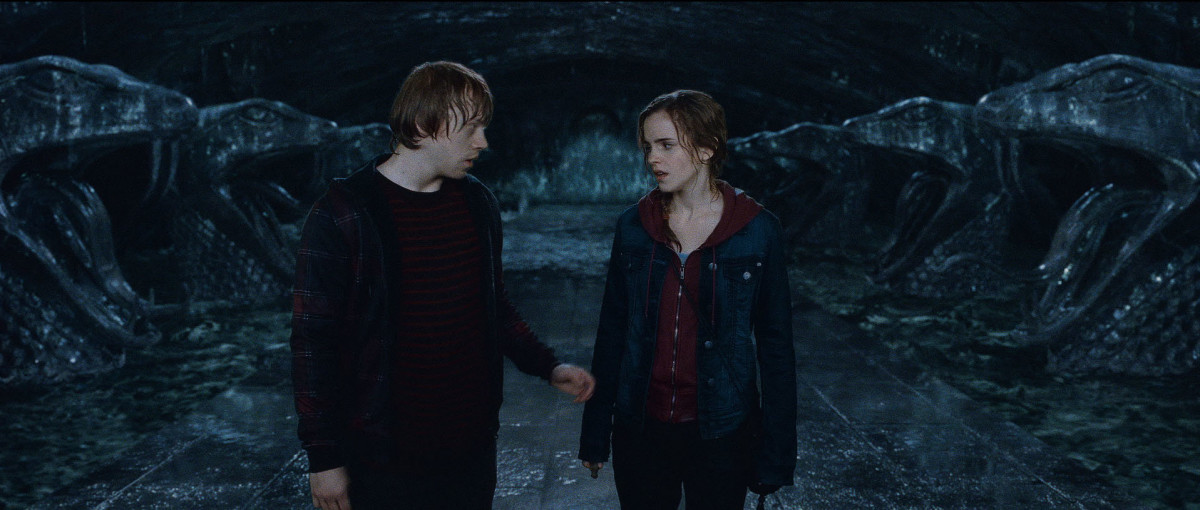 are ron weasley and hermione granger dating chiller hook up