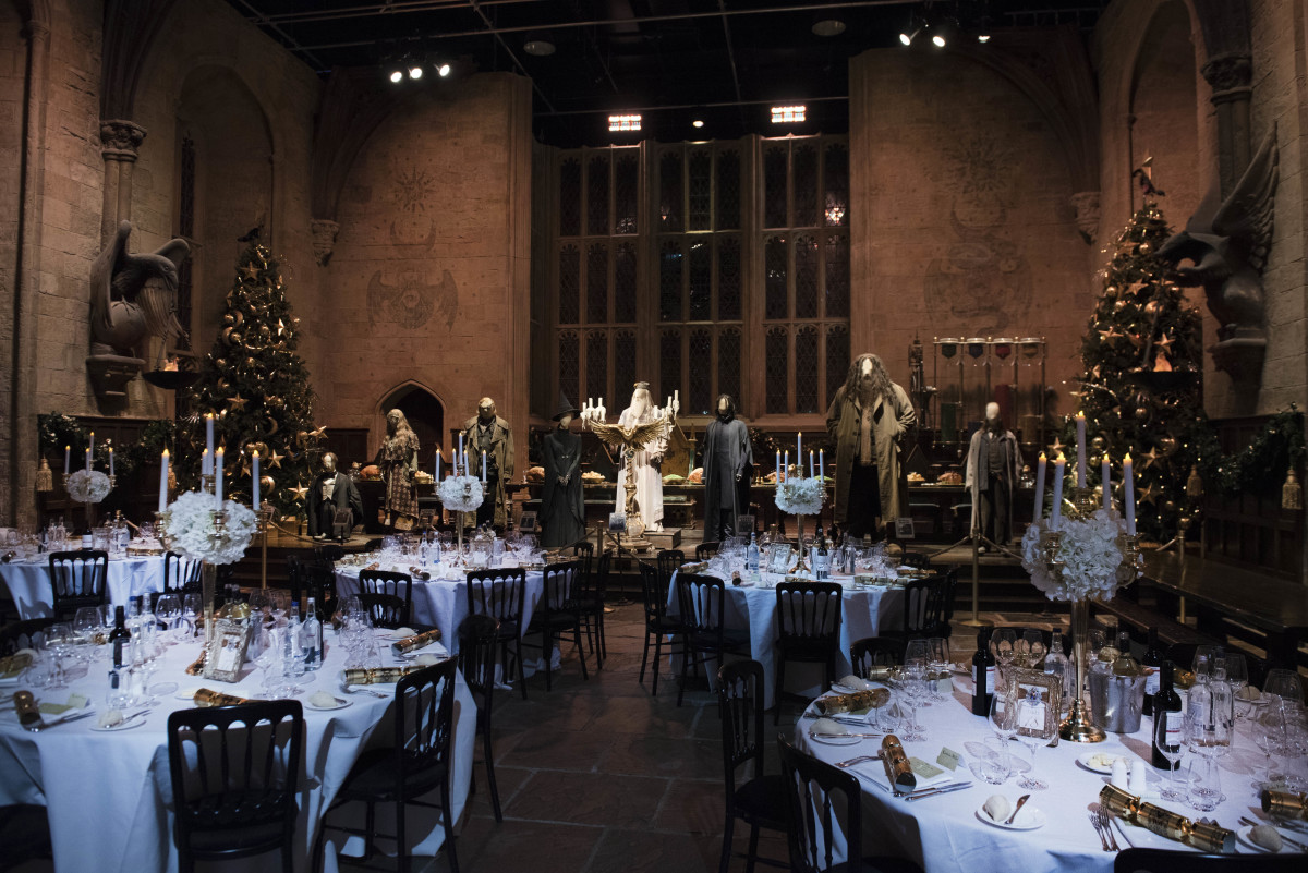 Would You Like To Dine In The Great Hall Pottermore
