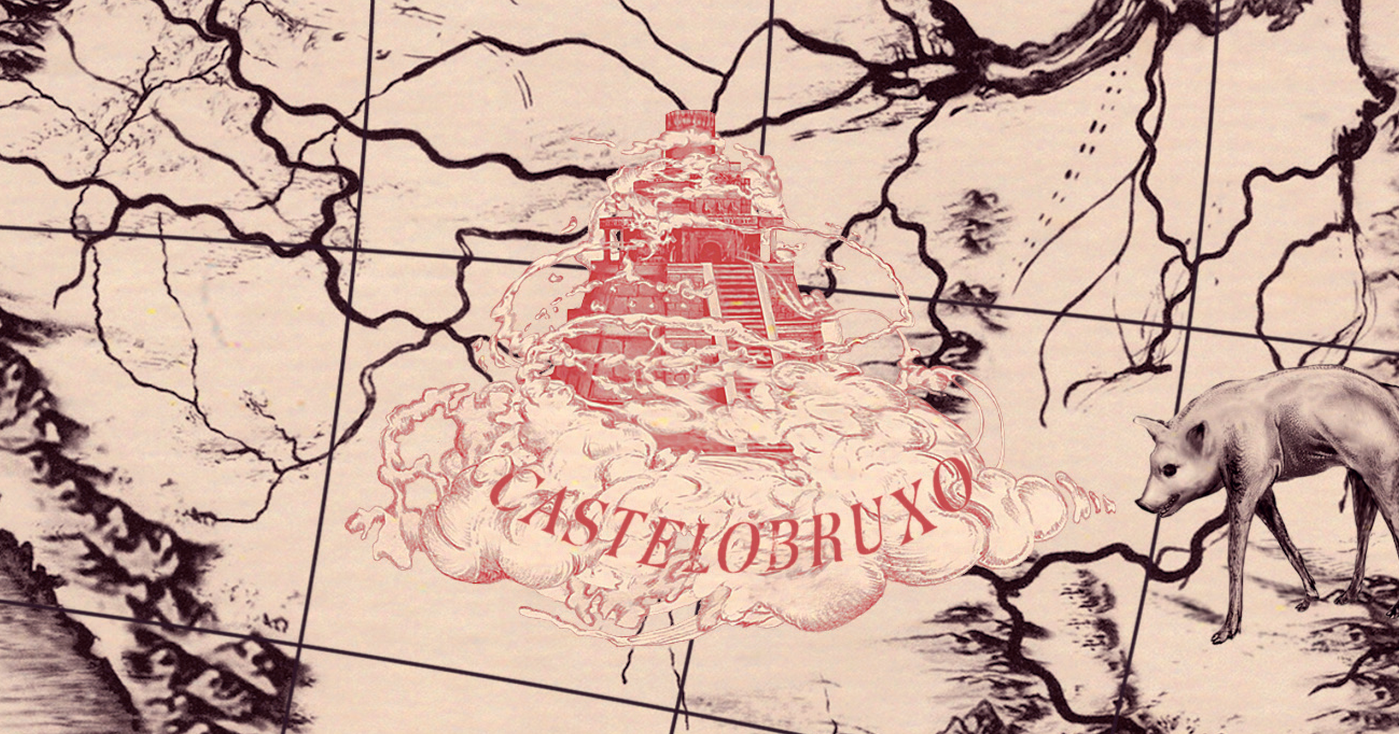 Wizarding School Castelobruxo with name