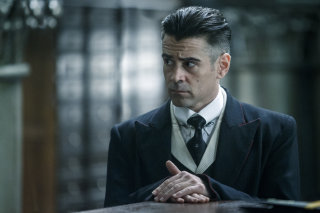 Colin Farrell as Percival Graves, Director of Magical Security at MACUSA and a high-ranking Auror