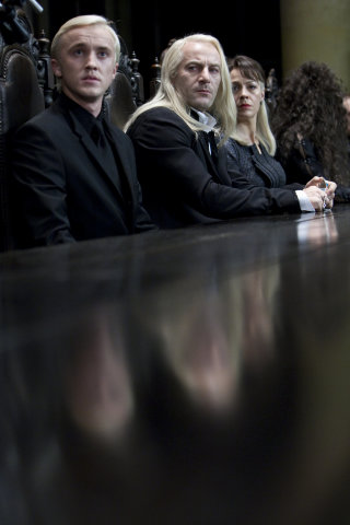 Tips on how to be a terrible father with Lucius Malfoy