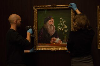 The British Library prepare their exhibition, Harry Potter: A History of Magic