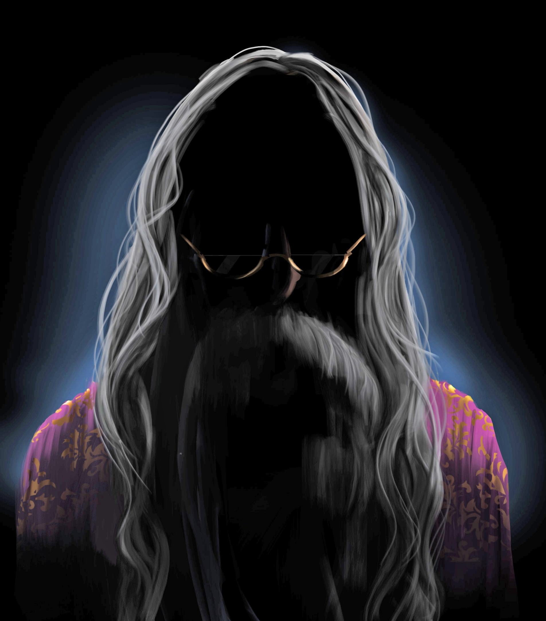 Dumbledore Atomhawk illustration