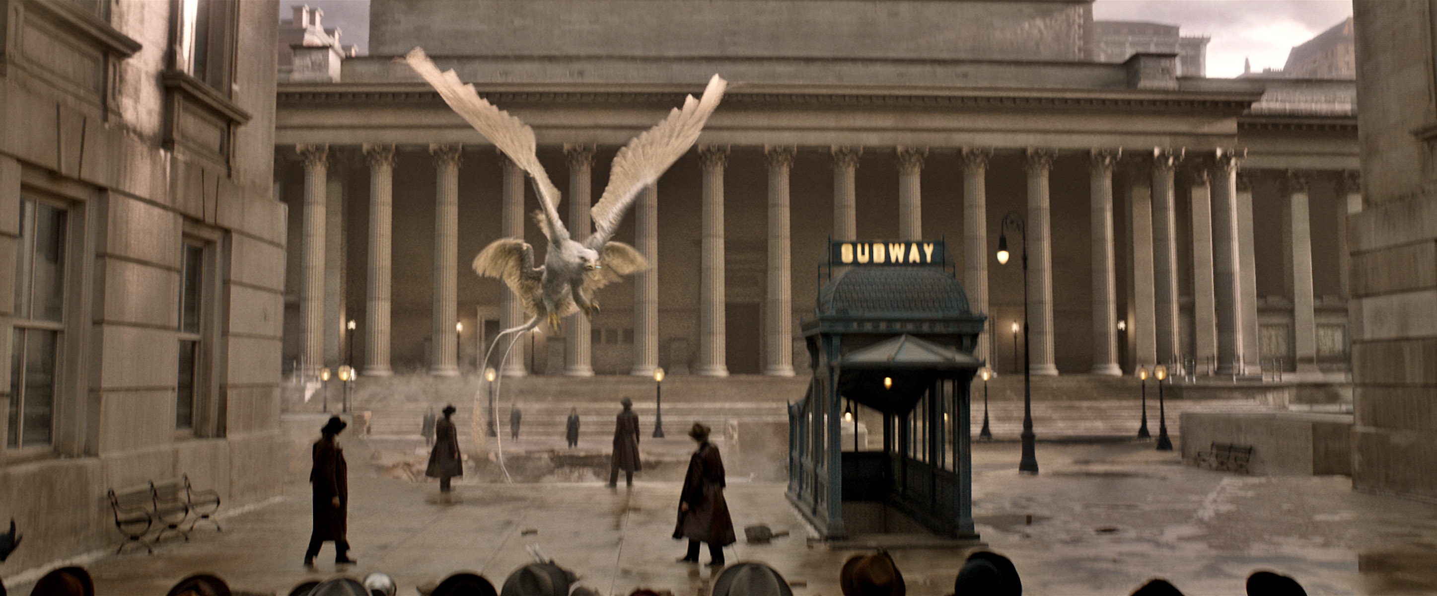 Thunderbird in Fantastic Beasts and Where to Find Them