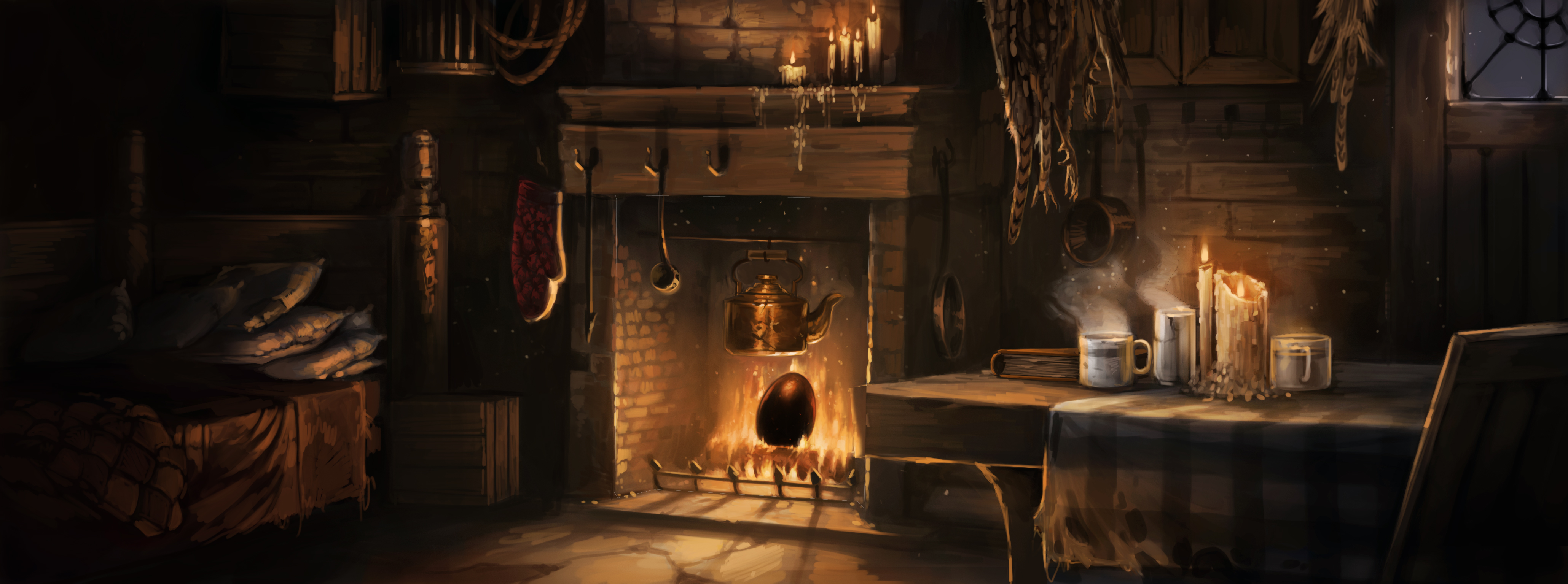 The egg in the fire pottermore What house was hagrid in