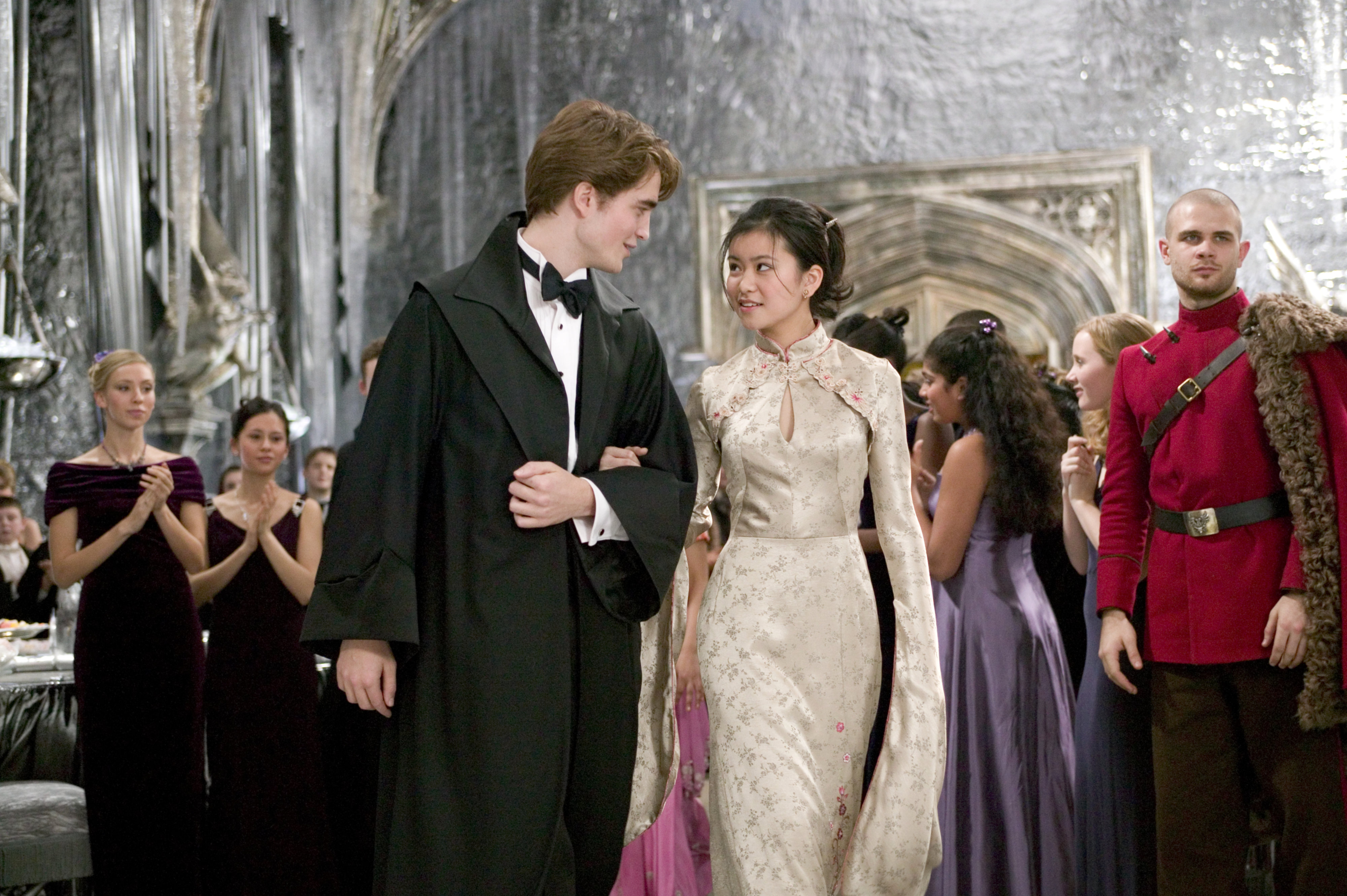 Cedric and Cho at the Yule Ball