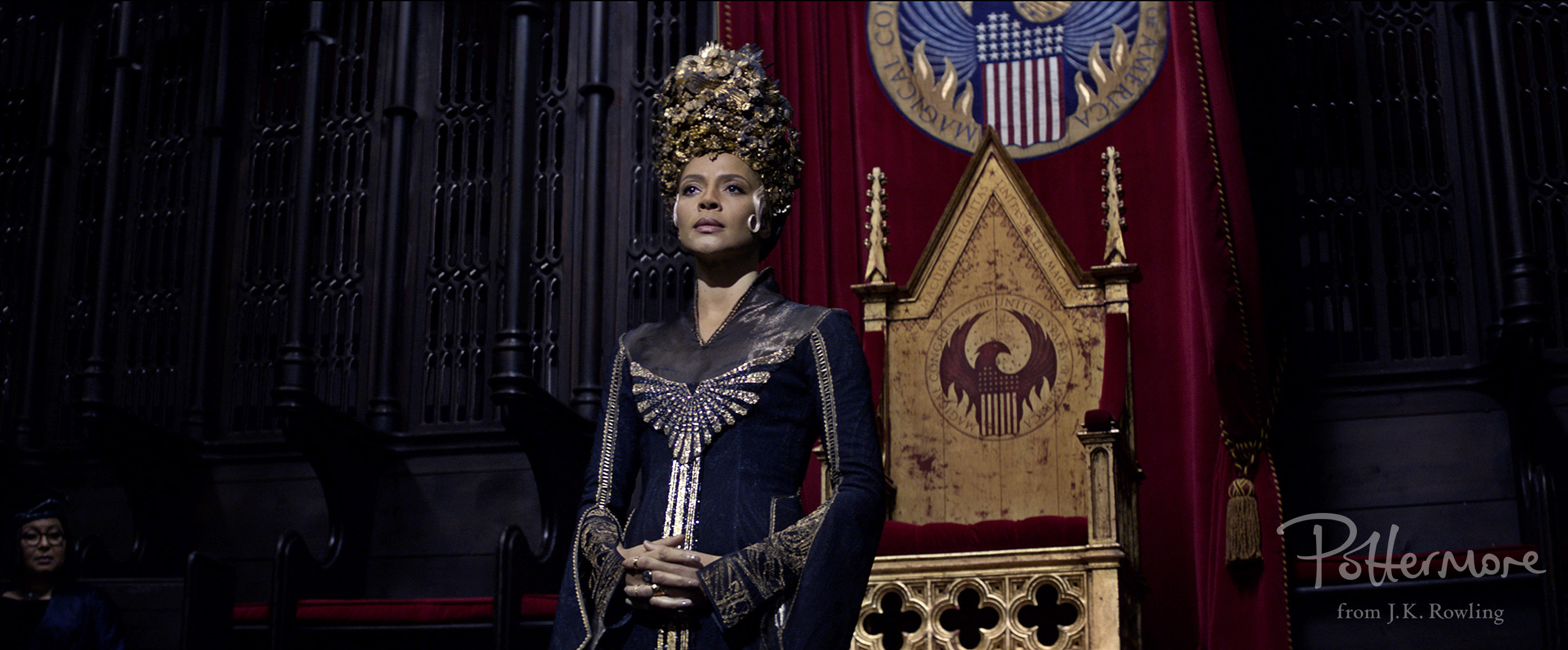 Seraphina Picquery in Fantastic Beasts and Where to Find Them
