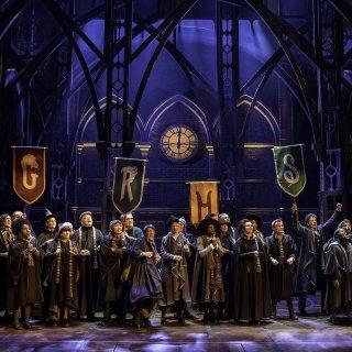 Original de Londres Elenco de Harry Potter ea Criança Amaldiçoada.