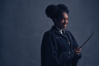 New Cursed Child portraits of Ron, Hermione and Rose Granger