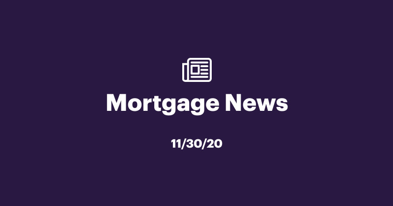 Mortgage News 12/02/2020: Why this winter may be the best time to buy a home