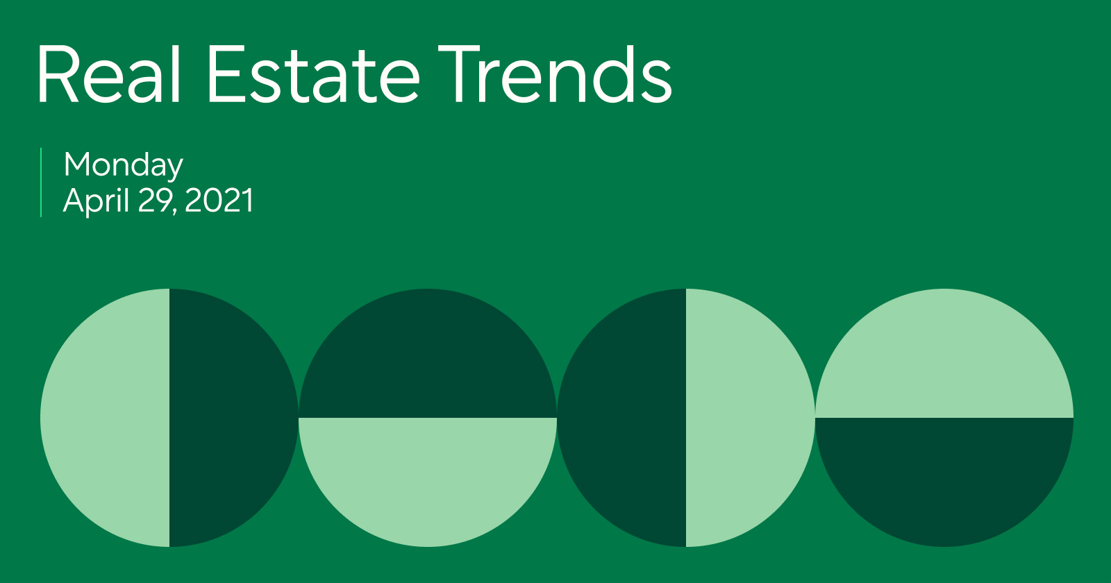 Real Estate Trends 4/29/2021: Working with First-time Buyers in a Seller's Market