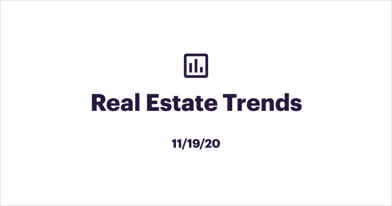 Trends Report for Real Estate Agents 11/19/20: As Families Head to Suburbs, Young Professionals and Empty Nesters Eye Downtown Condos