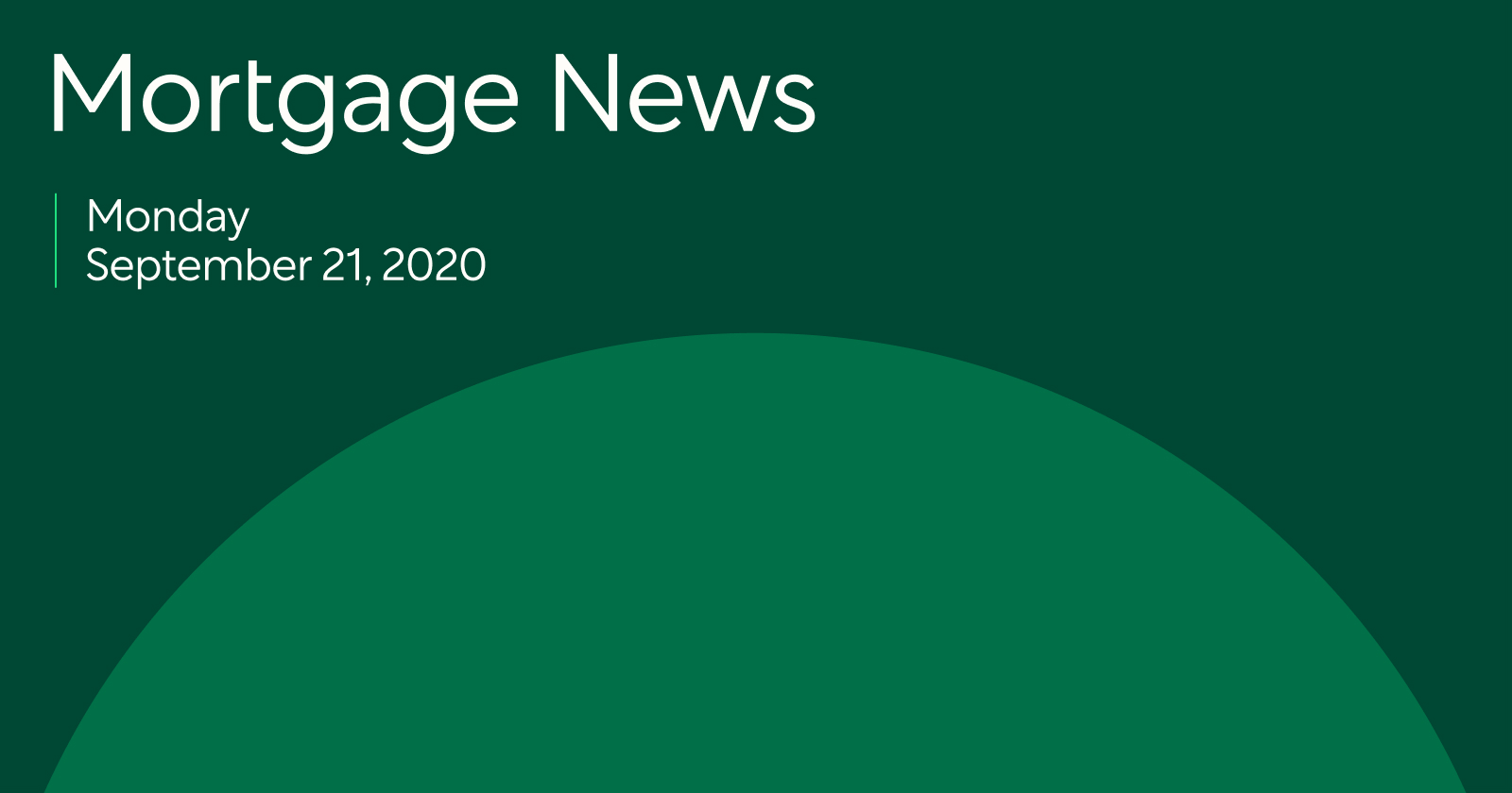 mortgage news 9/22