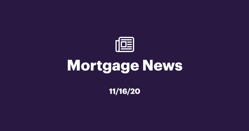 Mortgage News 11/16/2020: Rates Rise Upon News of COVID-19 Vaccines