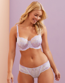 Clara Bra in Lilac by Panache