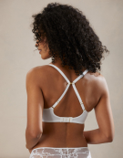 Amber Lace Bra in White by Bravissimo