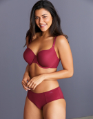 Porcelain Elan Balconette Bra in Wine by Panache