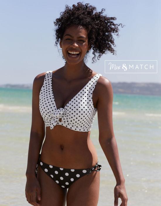 5644bb9600 Whitsunday Bikini Top in Multi Spot by Bravissimo