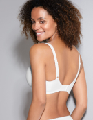 Rebecca Full Cup Bra in White by Fantasie
