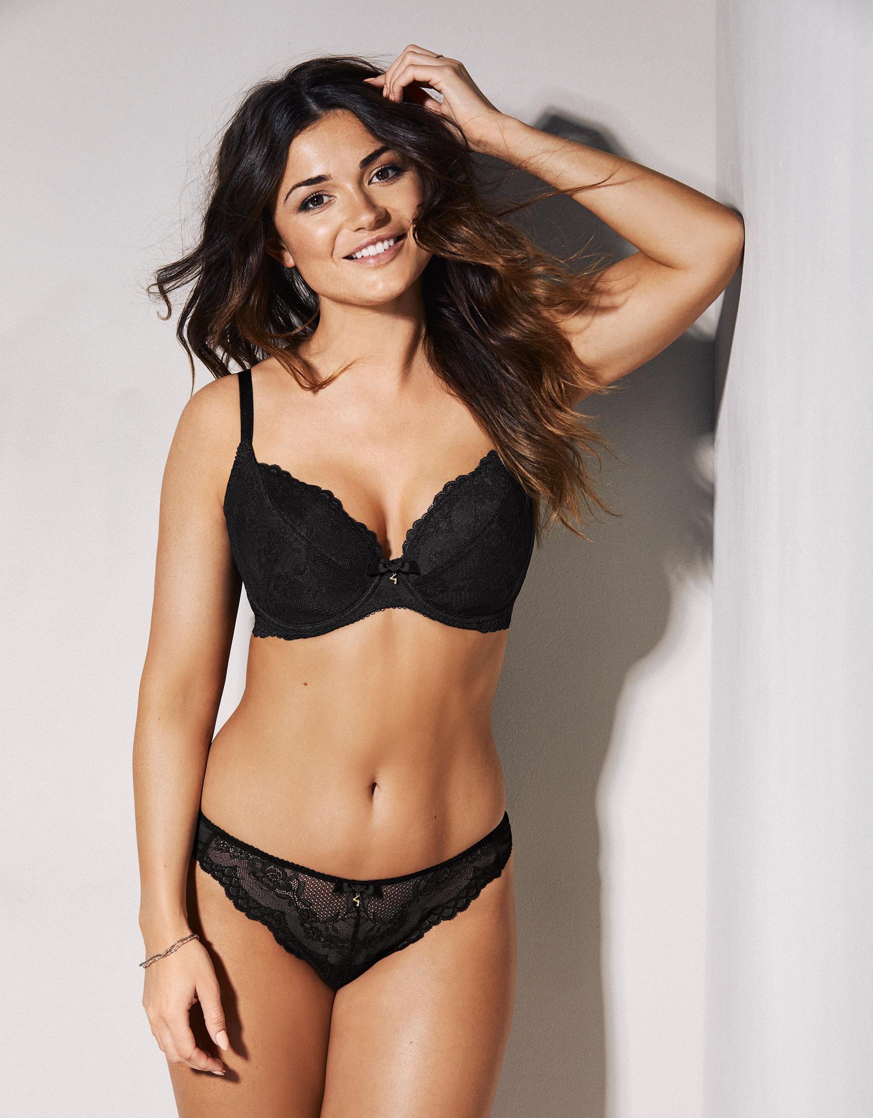1c0168c91af2e Superboost lace plunge bra in black gossard bravissimo jpg 550x704 Gossard  superboost lace