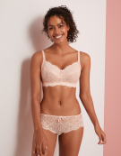 Andorra Non Wired Bra in Petal Pink by Panache