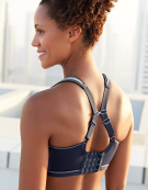 Force Non Wired Sports Bra in Navy by Freya