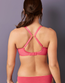 Koko Muse Plunge Bra in Coral by Cleo