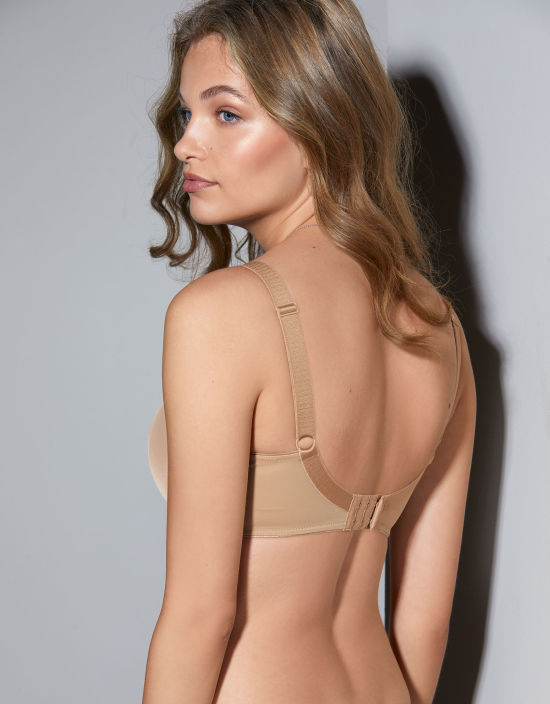 91f5c2871a Smoothing Balconette Bra in Nude by Fantasie