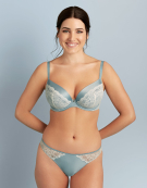 Ariana Plunge Bra in Duck Egg by Bravissimo