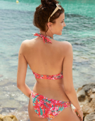 Wild Sun Triangle Bikini Top in Multi Print by Freya