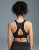 Skye Non Wired Sports Bra in Black by Bravissimo